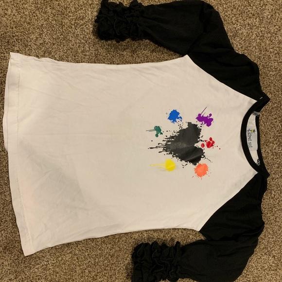 2dd6d701d handmade Shirts & Tops | Artsy Shirt Custom Made Worn Once | Poshmark